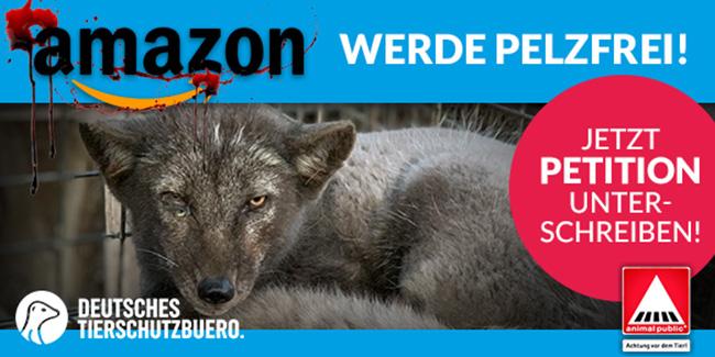 Wir brauchen Ihre Stimme: Amazon soll pelzfrei werden!