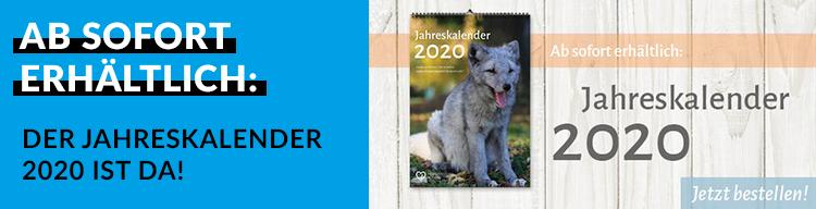 Tierschutz-Jahreskalender 2020