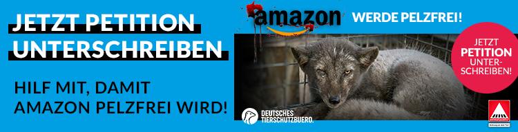Wichtige Petition: Amazon soll pelzfrei werden!