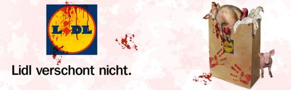 LIDL verschont nicht – Deutsches Tierschutzbüro startet bundesweite Kampagne