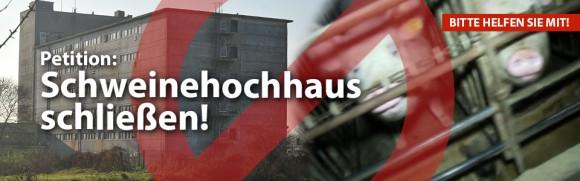 Petition: Schweinehochhaus schließen